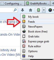 บันทึก ePub ใน Firefox