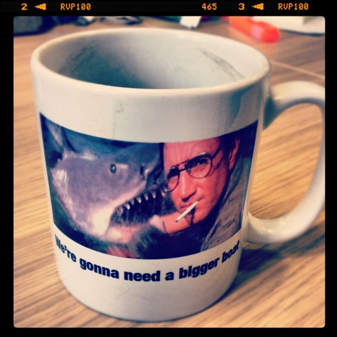 #214 - Jaws mug from Will Howells