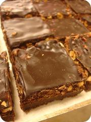 Nötchoklad-kladdkaka