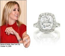 Ivanka Trump Engagement Ring Celebrity Pictures