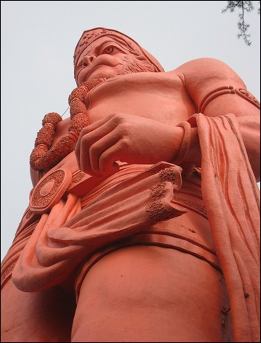 Statue of Lord Hanuman