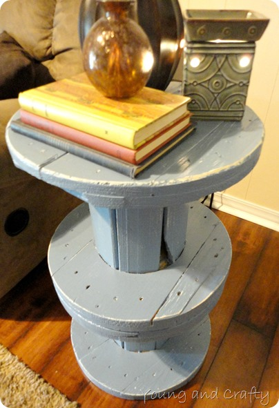 Electrical Spool End Table 4