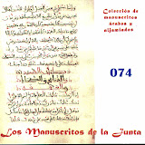 074 -  Carpeta de manuscritos sueltos.