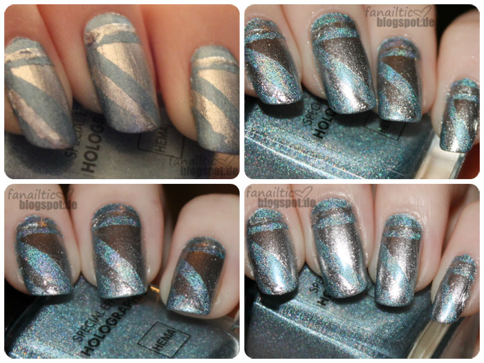 ciaté fit for a queen + hema blue holo