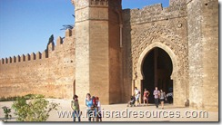Ancient Ruins of Chellah in Rabat, Morocco