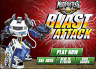 Modifighters Blast Attack Game