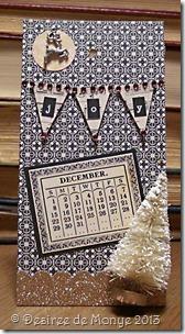 Susan's 2013 calendar - December