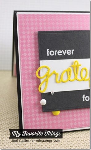 SEPT MFT Forever Grateful Closeup 2