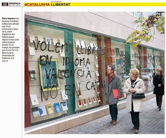 estupiditat regionalista per la lenga catalana