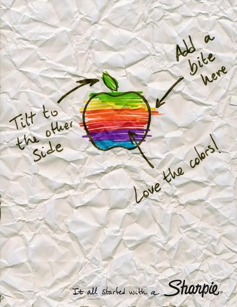 Sharpie rolling stones apple playboy print 3