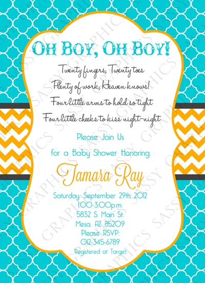 Twins Baby Shower Invitation-4