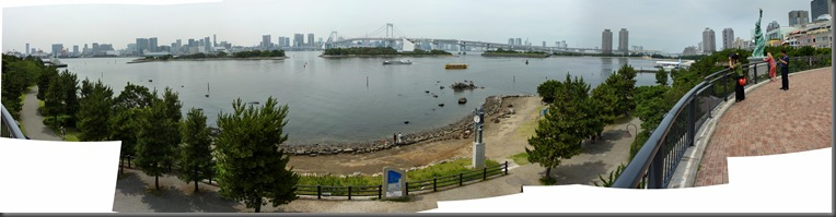 Panorama Tokyo island small