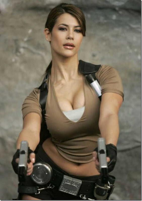 Os melhores cosplays de Lara Croft 5
