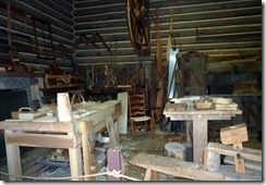 Woodworking Shop at Fort