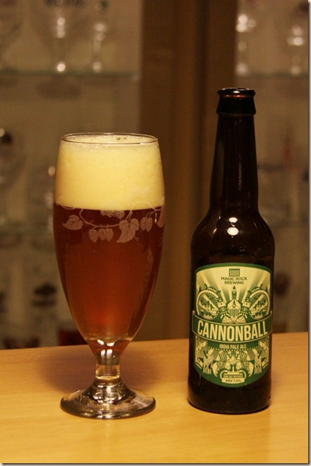 MagicRock Cannonball g&b