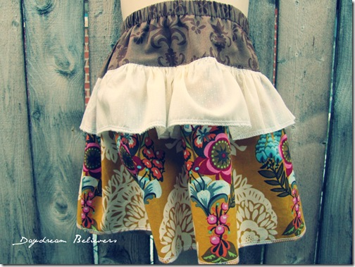 busy bee skirt