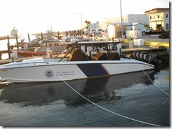 Customs and Border Protections...(4) 350hp outboard motors