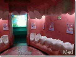 ausergewonliche Zahnarzt praxis