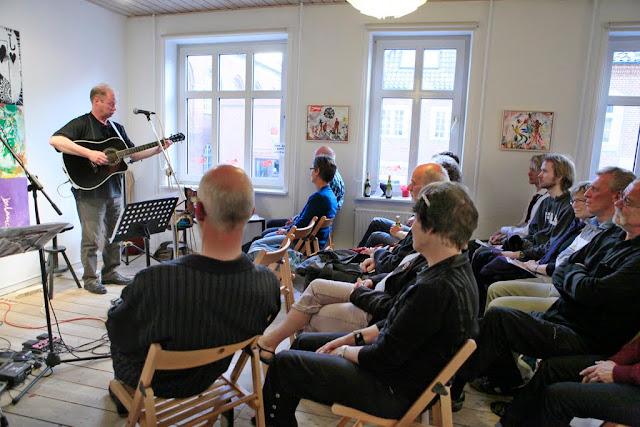 Peer Knudsen spiller til Bob Dylans 70 års fødselsdagskoncert - 2011
