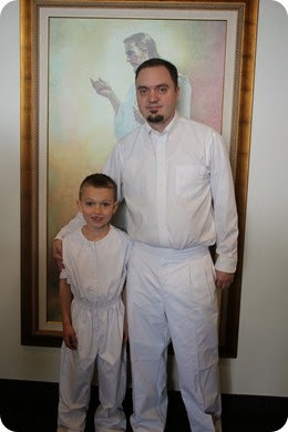 Isaac's Baptism (2)