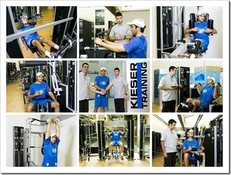 Fernando Belasteguín comparte su método de entrenamiento físico con Kieser Training.