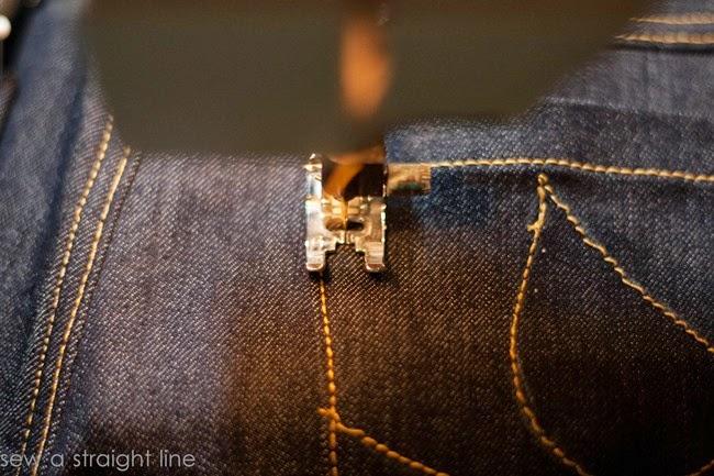 pockets flat felled seams jeans sew along sew a straight line-23