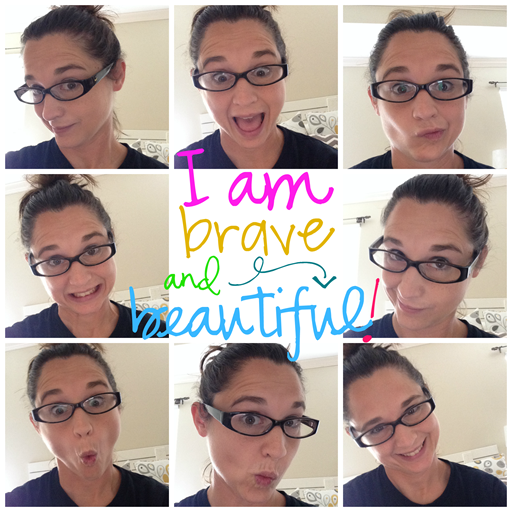 #Iambraveandbeautiful #gingersnapcrafts
