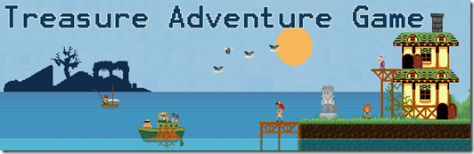 Treasure adventure game free indie game