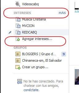 Crear una lista en Facebook