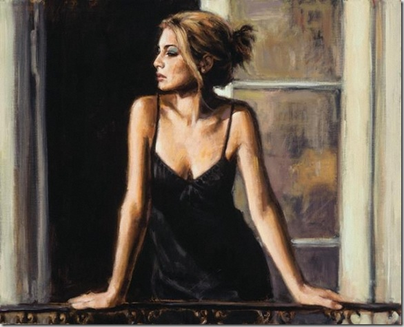 Fabian Perez 1967 - Argentine Figurative painter - Reflections of a Dream - Tutt'Art@ (26)