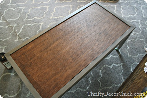 replacing top of coffee table