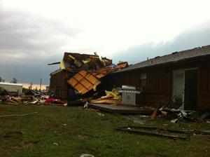 Tornado Damage 1st sight