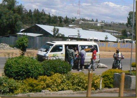 Minibus in Kenya