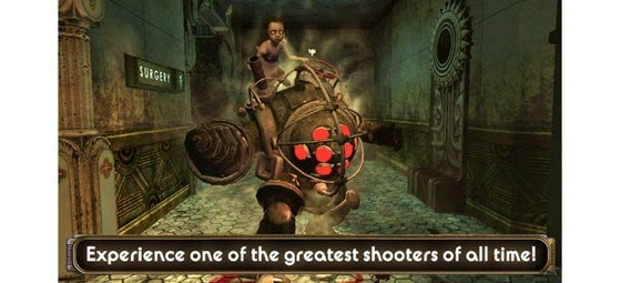 Bioshock now available for the iPhone and iPad via TUAW