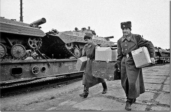 Ritiro delle truppe sovietiche da Milovice 265591