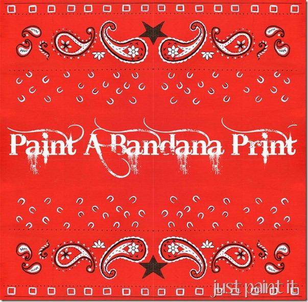 bandana printable D