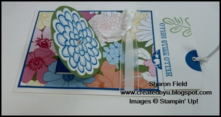 Cards That Move, VC Rocks, Yahoo Group, Virtual Convention, Stampin Up Convention, pop up, engineered cards, online shopping, flower fest, beyond the garden, summer mini, catalog, Sharon Field, shop online