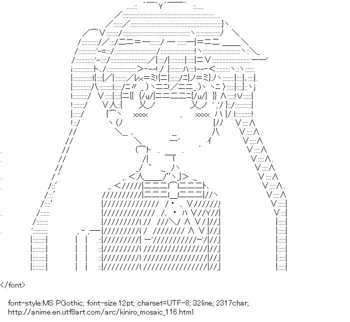 Kiniro Mosaic,Komichi Aya