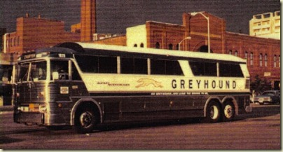 Greyhound Bus 1970s