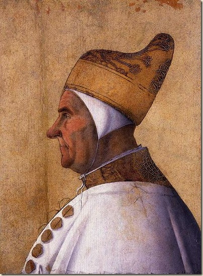 Bellini,Portrait du Doge Giovanni Mocenigo