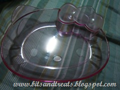 hello kitty plate, bitsandtreats