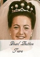 Pearl Button Tiara