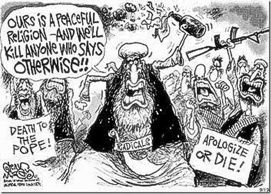 Muslim Hate Political Toon