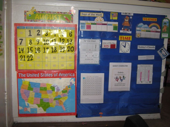 Calendar Area Wall