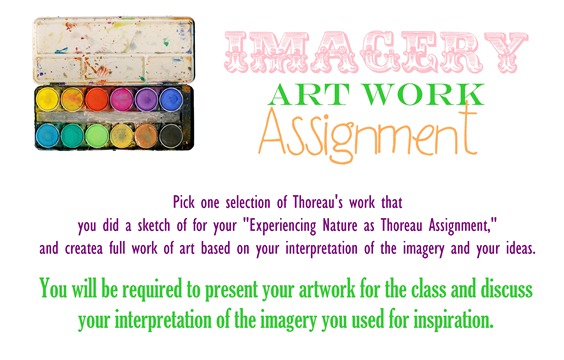 Imagery Artwork Assignment HandOut