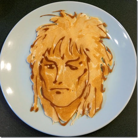 David Bowie pancake