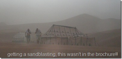 Tony and Mark returning through the sandstorm