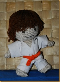 karateca amigurumi