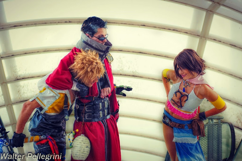 Final Fantasy X Cosplay - TIdus, Auron, and Yuna by LeonChiroCosplayArt on deviantArt