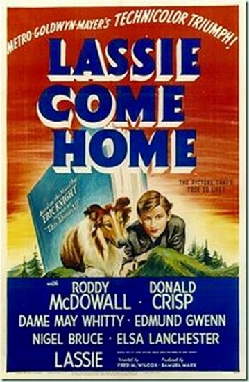 lassie come home original poster